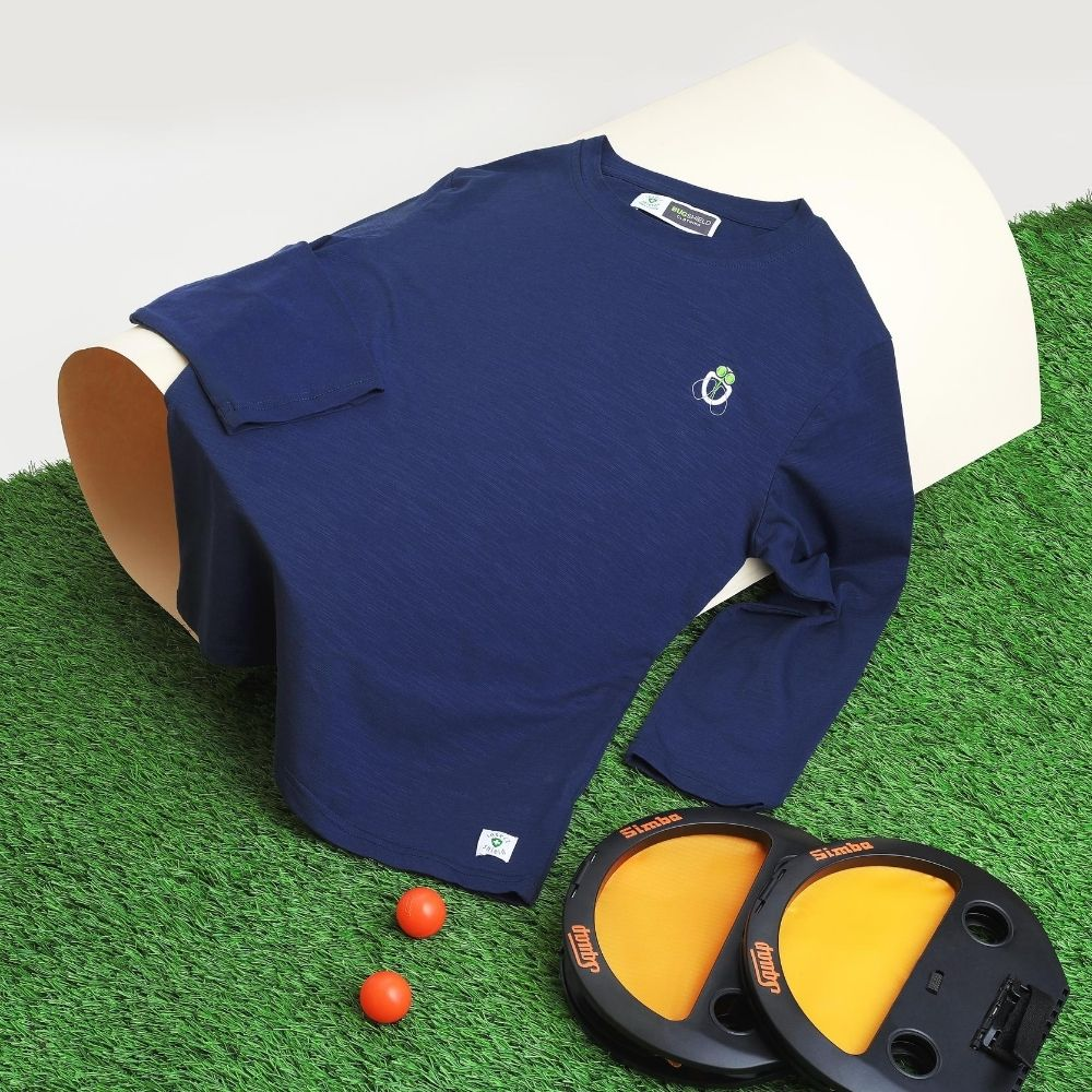 Blue tshirt creative