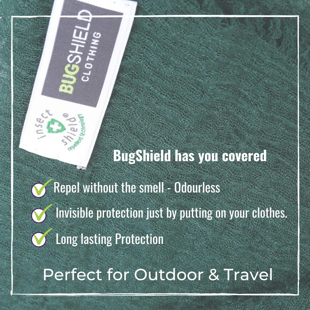 bugshield scarfs advantages green