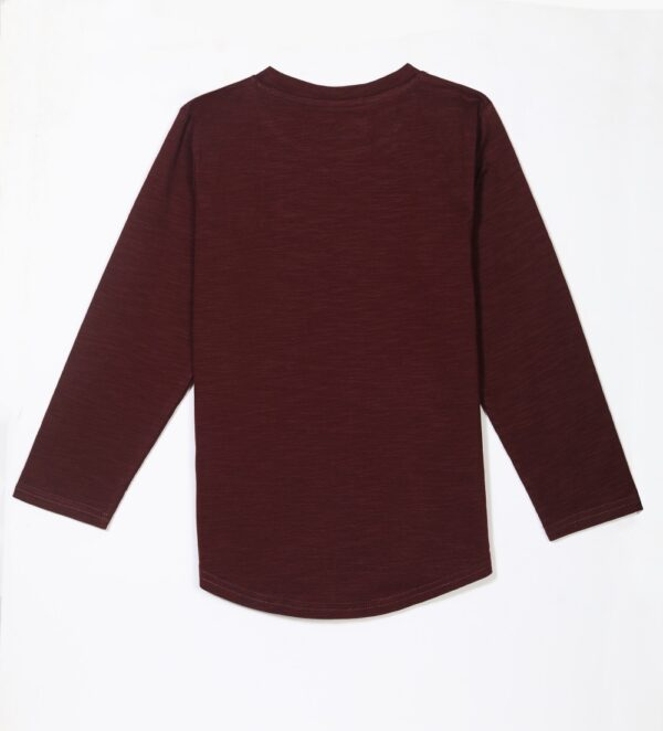 girls mosquito repellent top maroon back