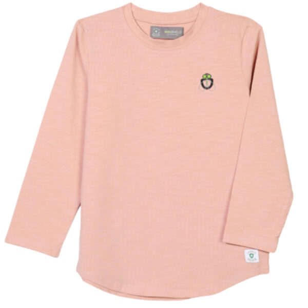 girl bugshield mosquito repellent t-shirt baby pink