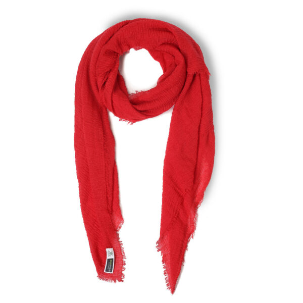 bugshield red scarf