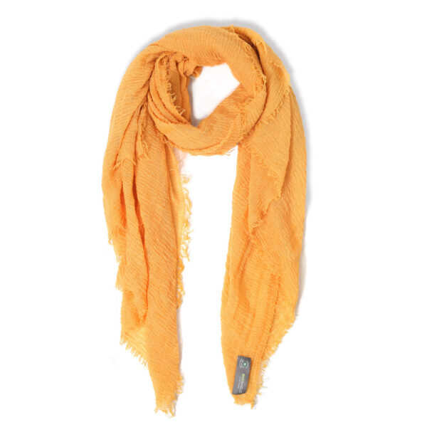 bugshield yellow scarf
